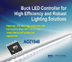 Alpha and Omega Semiconductor Offers New Buck LED Controller IC for High Efficiency and Robust Lighting Solutions