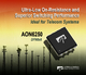 Alpha and Omega Semiconductor Delivers Industry's Lowest On-Resistance in a DFN5x6 Package with New 150V Power MOSFET
